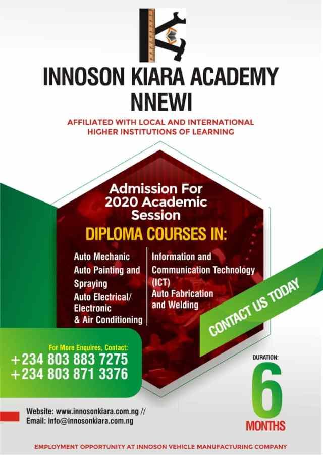 Innoson Kiara Academy