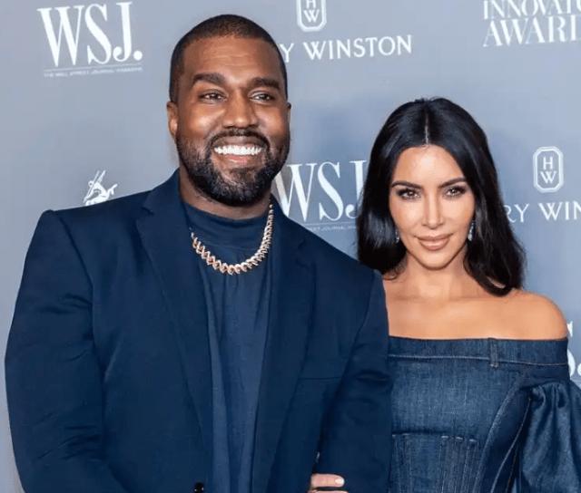 Kanye west and Kardashian west