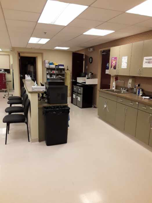Office Cleaning Patient Lobby