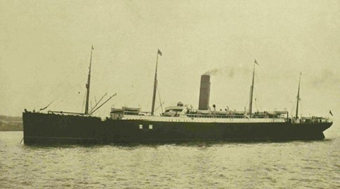 The Carpathia, which went to the rescue in 1912