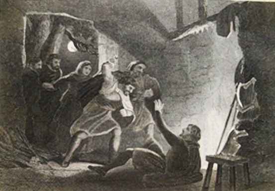 death of the earl of desmond from history of ireland 1867 Martin Haverty