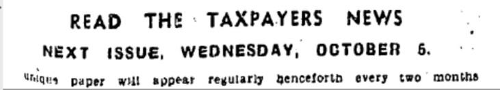 taxpayers' news 1
