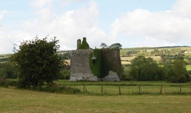 10 Imposing castle ruin at Kilmurry