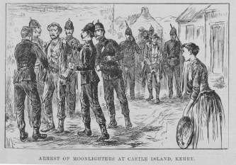 4-arrest-of-moonlighters-at-castleisland-in-1886