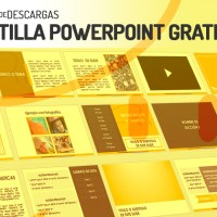 Plantilla Powerpoint Gratis - Yellow 1