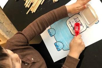 Aprender el cepillado dental en niños