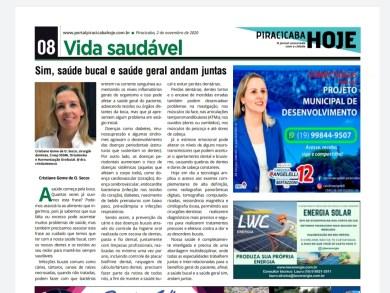 Sim, saúde bucal e saúde geral andam juntas - Portal Piracicaba Hoje