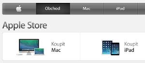 Kde se dají koupit produkty firmy Apple?