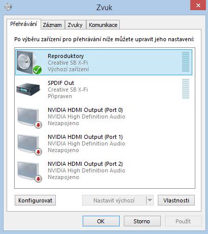 Jak přes HDMI na grafické kartě poslat zvuk do televize?