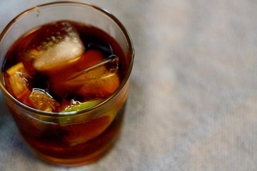 Koktejl Cuba Libre