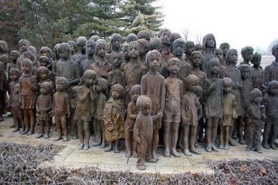 Lidický památník dětem