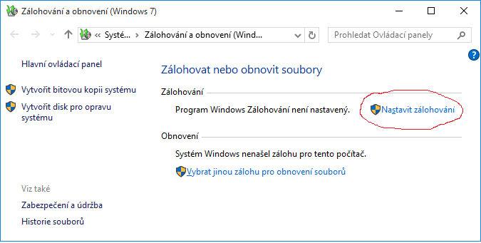 Jak zazálohovat profily uživatelů ve Windows 10?