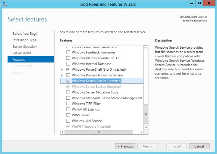 Jak zapnout vzdálenou indexaci souborů na PC nebo serveru