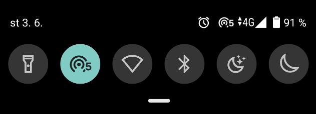 Co znamenají čísla vedle ikon u WiFi na Androidu?