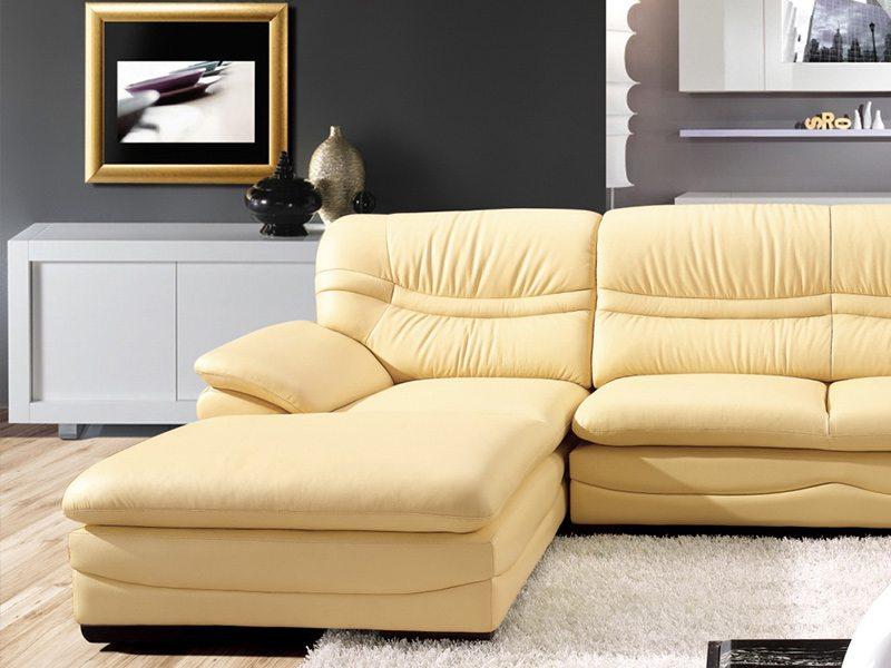 柔情超舒適L型皮沙發 - 歐德斯沙發工廠   歐德斯沙發工廠