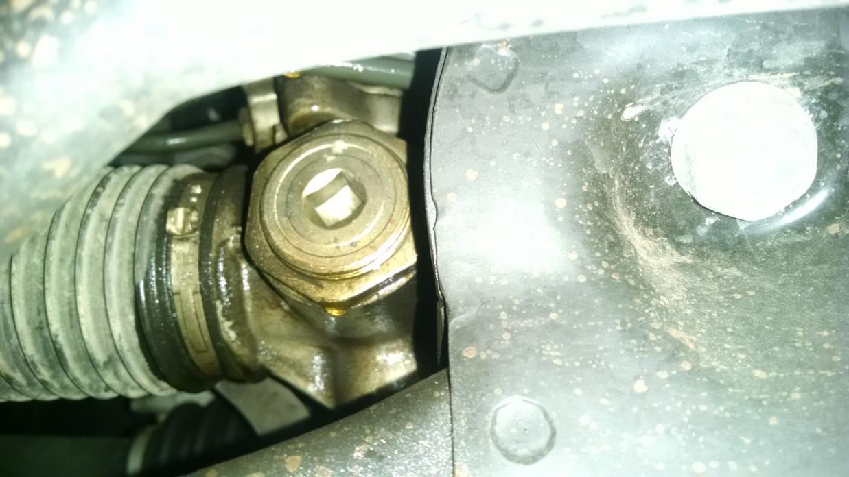power steering rack leak honda