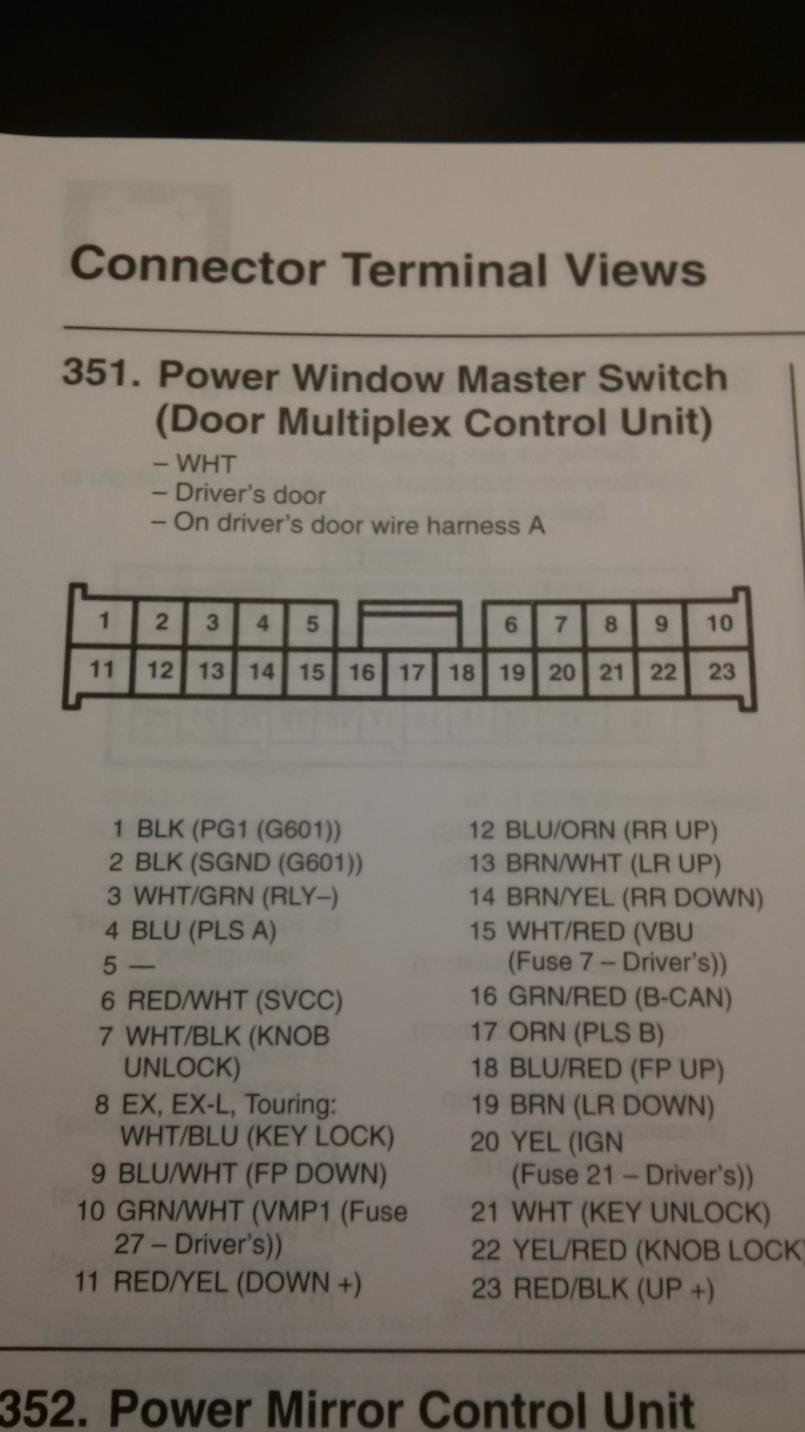 hight resolution of  power window switch connector img 20170128 223451 jpg
