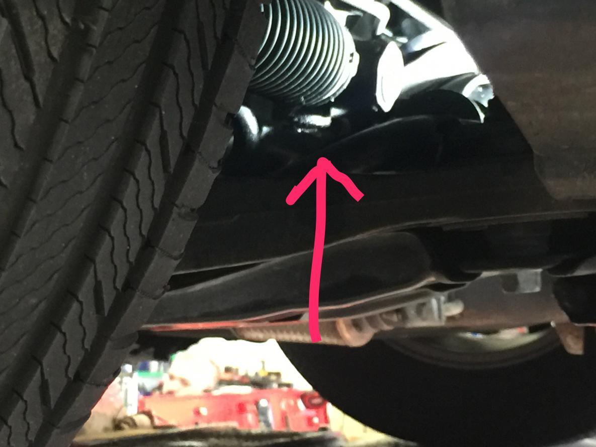 power steering fluid leak out of rack