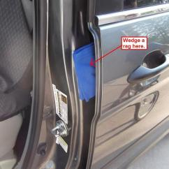 Honda Odyssey Sliding Door Parts Diagram Discovery 2 Electric Window Wiring Diy: Rattle Fix!