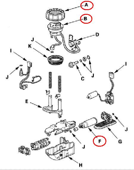 honda fuel filter location 2007