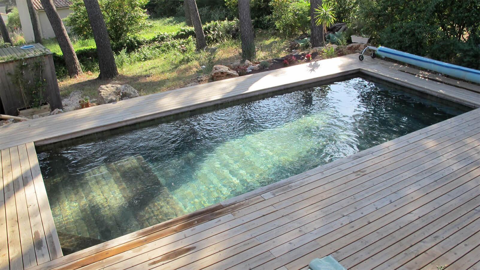 L39installateur de piscines en bois  Aix en Provence
