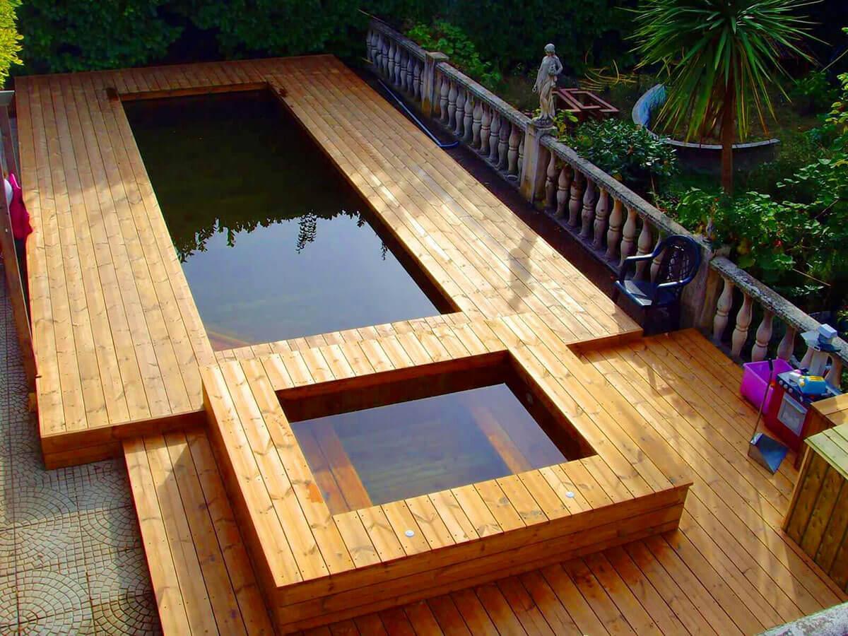 Comment entretenir une piscine en bois