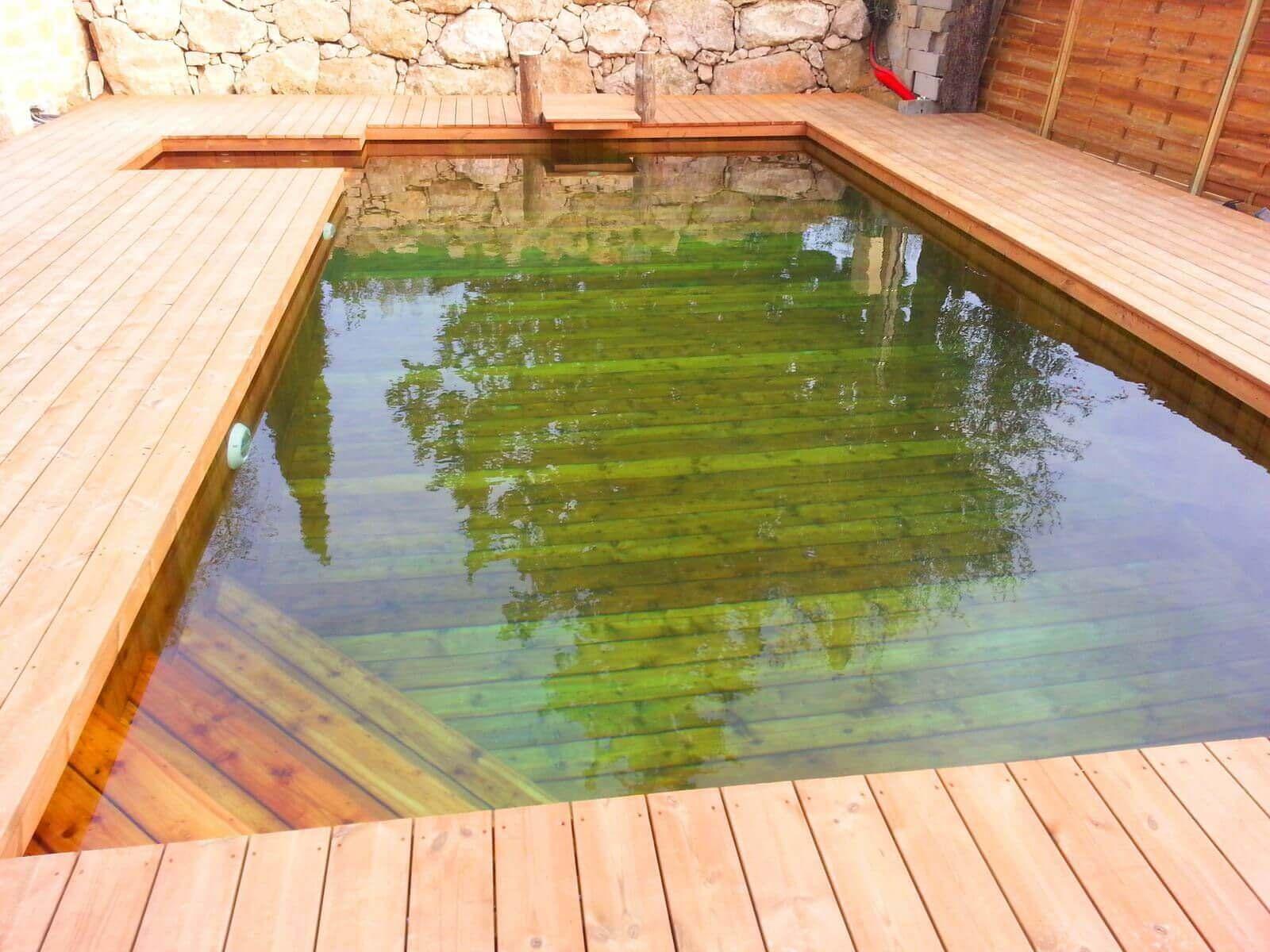 Fabricant piscine et jacuzzi spa sur mesure 100 bois  Toulon Var