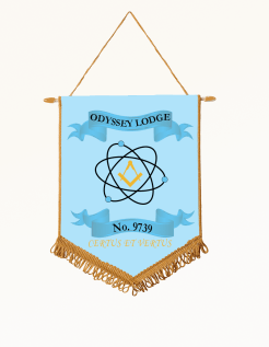 Odyseey Banner Light Blue Background