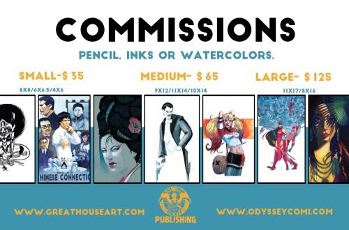 Commissions-list