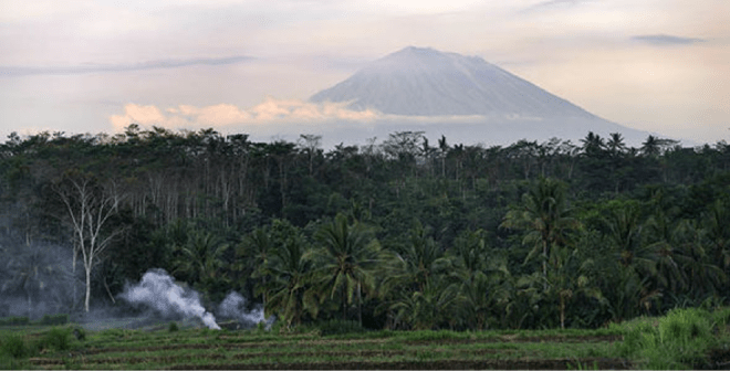 Mount Agung Update November 2017 Odysseys Surf School