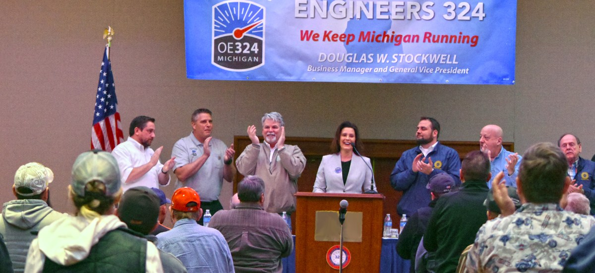 Operating Engineers 324 Endorses Gretchen Whitmer for Governor