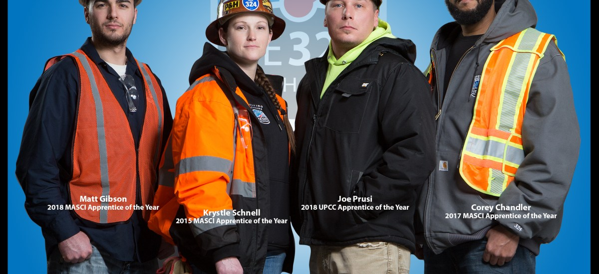 OE324 Apprentices lead the way