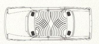 Autoradio Mercedes W114 W115 /8 Strich Acht
