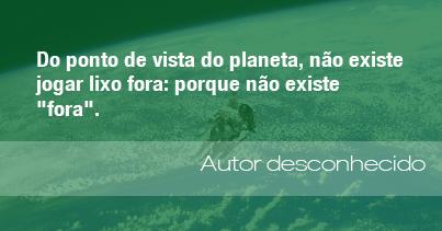As Melhores Frases Do Meio Ambiente Em 2013 Admirável Mundo Novo