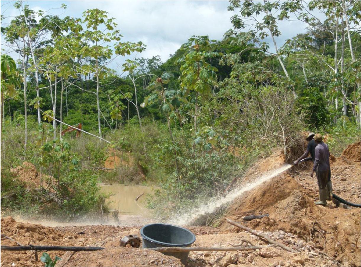 Mangueiras de pressão usadas para minerar