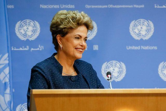 O governo brasileirro anunciou suas Pretendida Contribuição Nacionalmente Determinada (INDC) na ONU. Foto: Roberto Stuckert Filho/PR