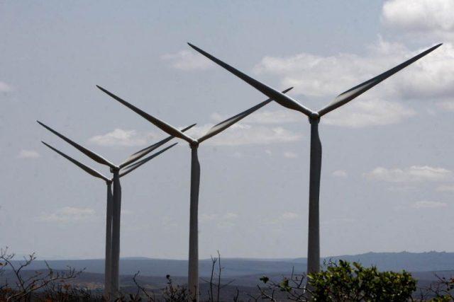 Parque de Energia Eólica em Brotas de Macaúbas. Foto: Alberto Coutinho/Secom.