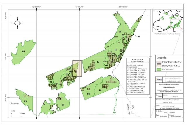 Mapa: DNPM.