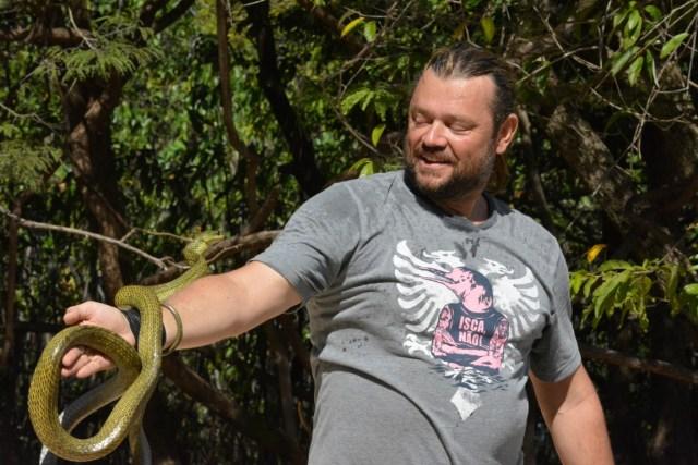 Rasmussen nega acusação e afirma que imagens foram importantes para proteger os botos. Foto: Vandré Fonseca.