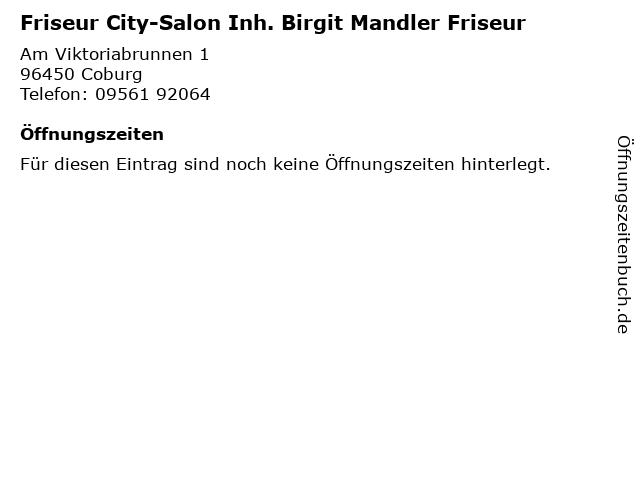 Friseur Coburg Mauer  Friseur