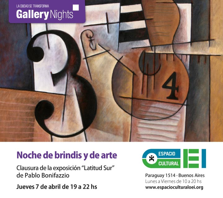 Gallery Night - Latitud Sur Pablo Bonifazzio