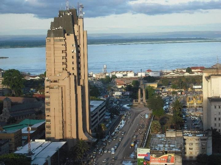 Vue de la ville de Kinshasa. RD Congo