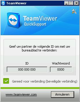 Oei Oei - Internet & Applicaties - Teamviewer