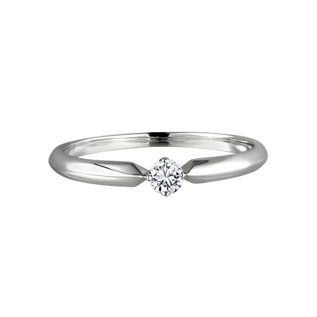 Verlobungsring 4Krappe 010ct OE2266  Juwelier OEKE