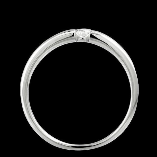 Verlobungsring Spannring 010ct OE4519  Juwelier OEKE
