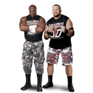 D-Von und Bubba Ray Dudley - The Dudley Boyz // Quelle: http://prowrestling.wikia.com/wiki/Dudley_Boyz