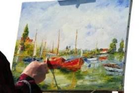ölmalerei  Ölmalerei und Ölbilder › Anleitungen, Tipps und Techniken