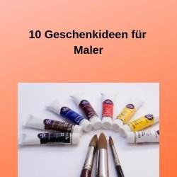 10 Geschenkideen für Maler