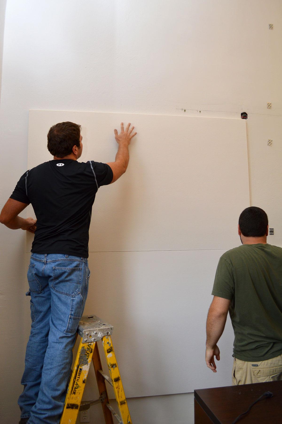 Novawall Stretch Fabric Wall System Installation