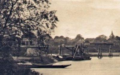 Ansichtskarte von 1926, Ausschnitt, Sammlung Lohmann.